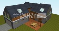 Projekt rodinného domu Letkov