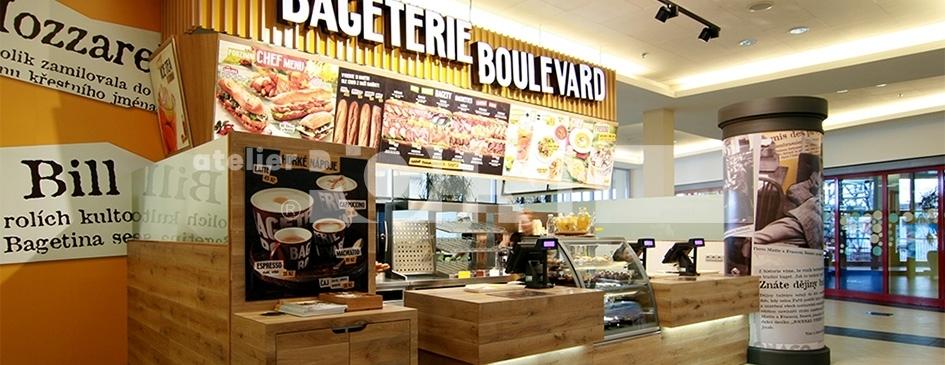 Rychlé občerstvení Bageterie Boulevard : atelier POINT