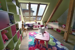 Návrh dívčího dětského pokoje, Plzeň